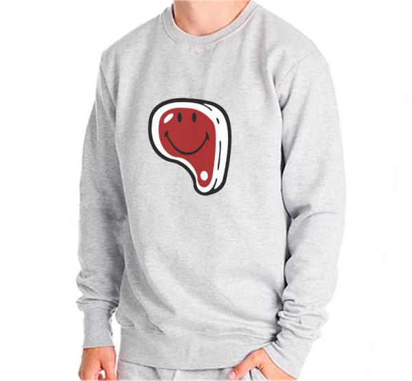 NHRS Happy Steak Sweater Sweatshirt