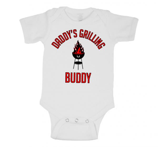 Daddy's Grilling Buddy Onesie